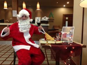 Aston Hotel Sheffield Xmas Santa